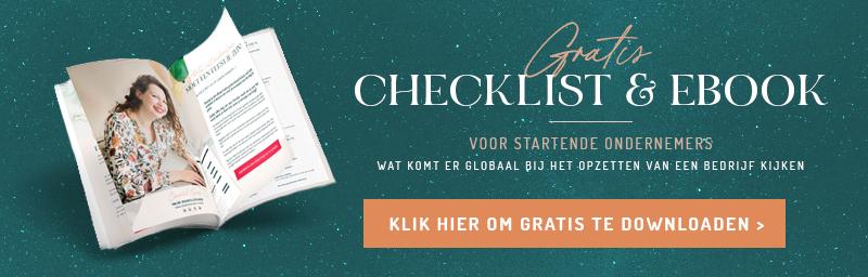 gratis checklist voor startende ondernemers de checklist bij het starten van je eigen bedrijf